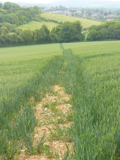 Path to Greenmount Farm