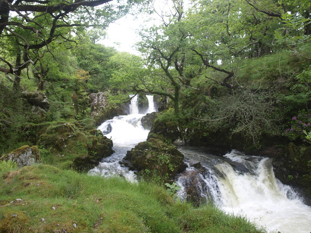Waterfall on the Afon Goedol