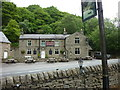 SK2086 : The Ladybower Inn, on the A57 by Ian S
