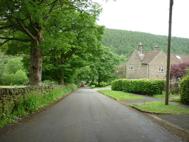 Lydgate Lane off the A6013