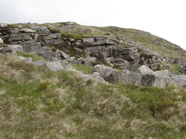 Granite Quarry Ireland Disused Granite Quarry on The