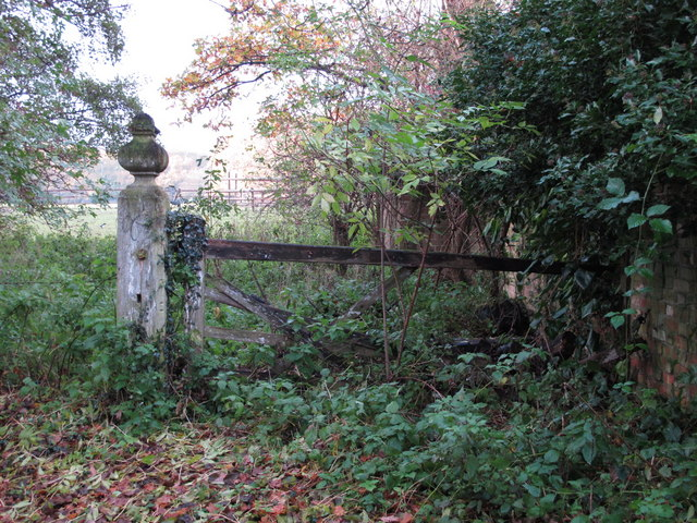 Old gateway east of The Stables