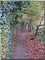 TQ4466 : Footpath east of The Stables by Mike Quinn