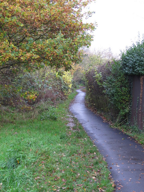 Footpath west of Broadcroft Road, BR5