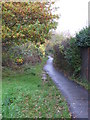 TQ4466 : Footpath west of Broadcroft Road, BR5 by Mike Quinn