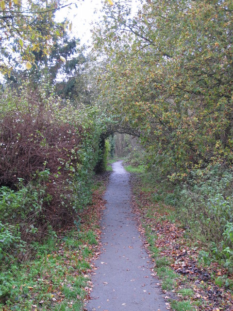 Footpath west of Broadcroft Road, BR5 (2)