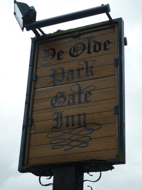 The Ye Olde Park Gate, a Sam Smith's pub, Over Peover