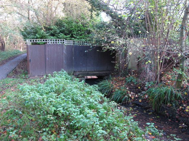 The Kyd Brook - East Branch, west of Sparrow Drive, BR5