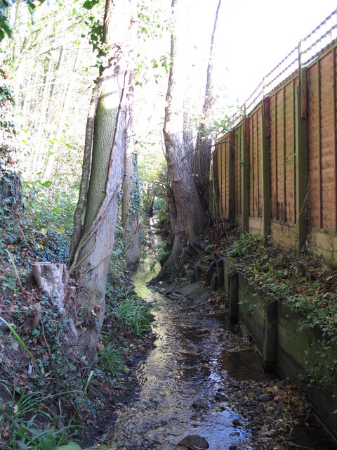 The Kyd Brook - East Branch, west of St. Thomas' Drive, BR5