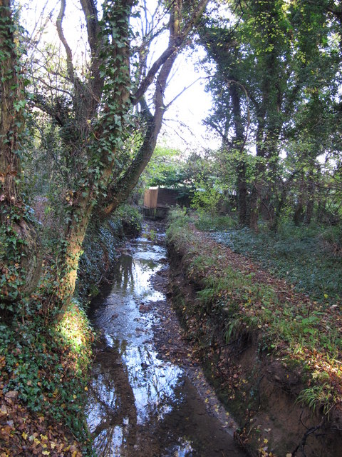 The Kyd Brook - East Branch, on Gumping Common