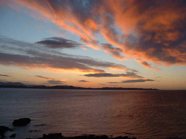 Red over Skye at night means...