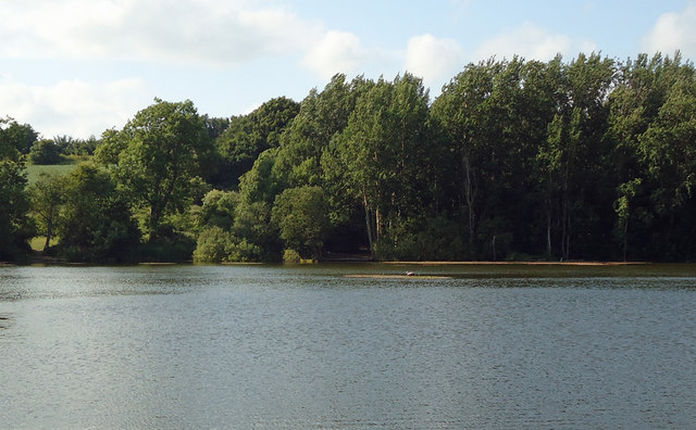 Decoy pond, nr Brantham Industrial Area