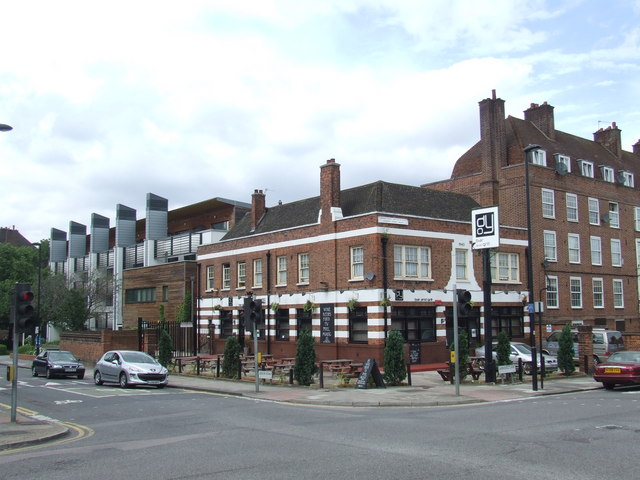 Duke of York pub, near Stockwell