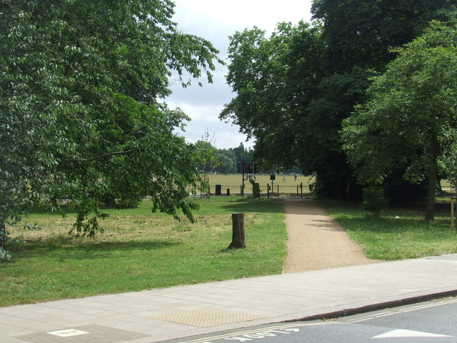 Path on Clapham Common