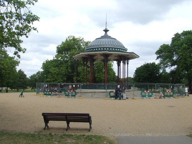 Bandstand on Clapham Common