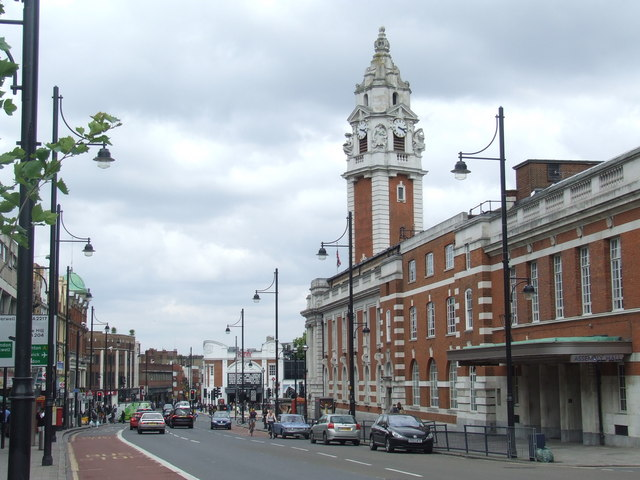 Lambeth Town Hall, Brixton