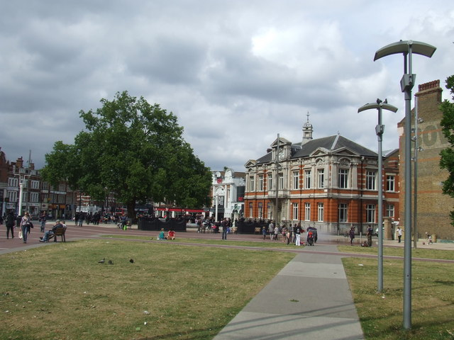Windrush Square, Brixton