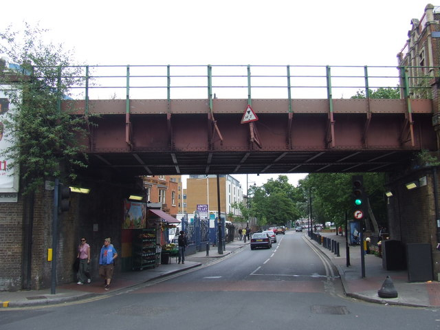 Bridge over Coldharbour Lane, Brixton