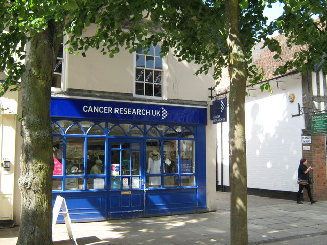 Cancer Research UK Shop, High Street Solihull