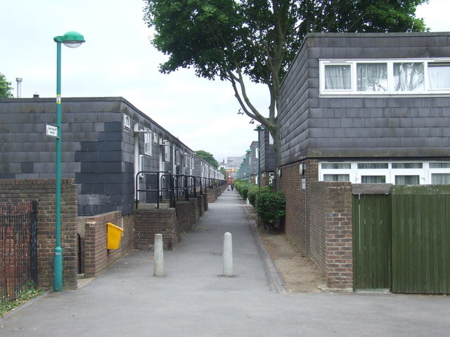 Housing estate near Brixton