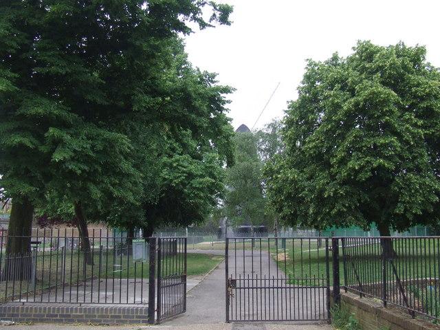 Windmill Gardens, near Brixton