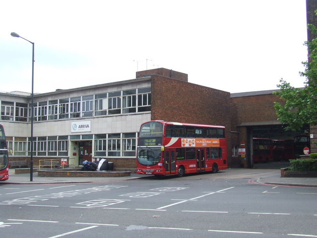 Bus garage, Streatham Hill