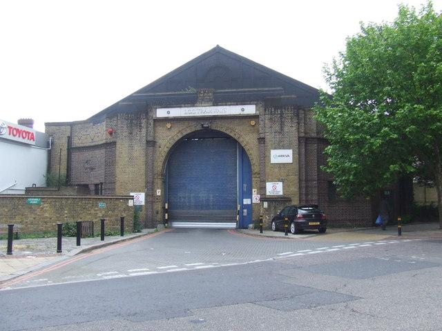 Former tram depot, Brixton Hill
