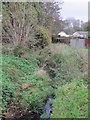 TQ4465 : The Kyd Brook - East Branch, north of Crofton Road (A232), BR6 (2) by Mike Quinn