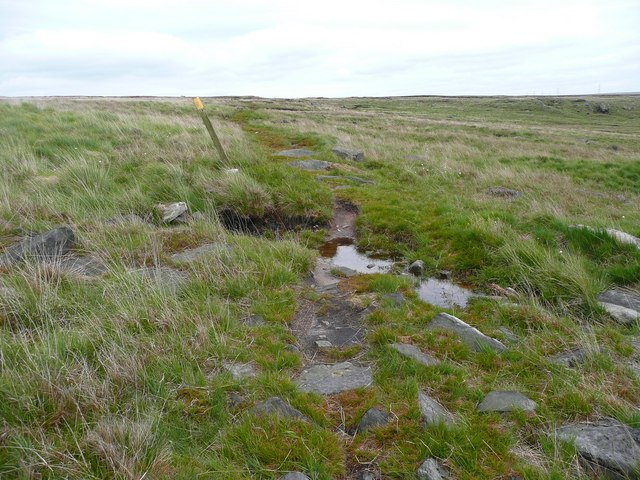 The path to Warland Reservoir