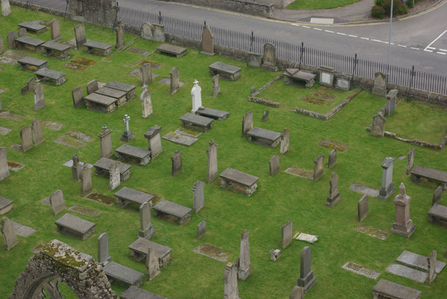 Elgin Cathedral graves