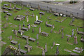 NJ2263 : Elgin Cathedral graves by Stephen McKay