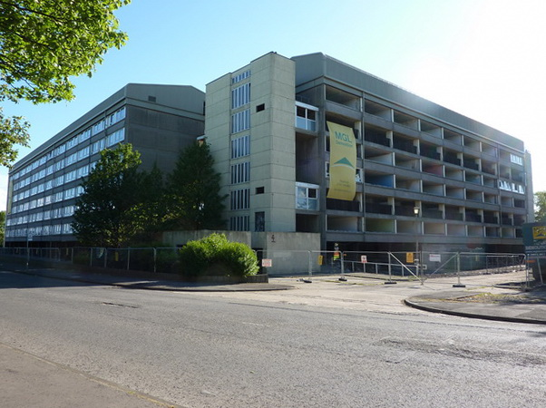 Soon to be no more, Hahnemann Court, Sunderland
