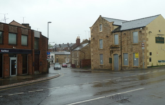 The north end of Market Street, Eckington