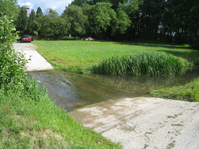 Ford by Turgis Court Farm