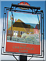 TR1365 : Chestfield Barn sign by Oast House Archive