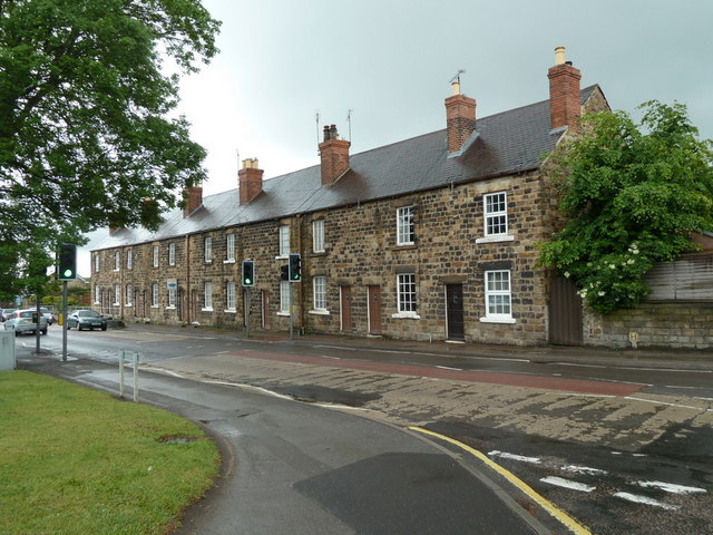 Terraced houses, High Street, Eckington
