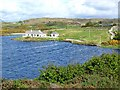L6157 : Bungalow on Lough Anillaun by Oliver Dixon