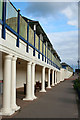 TF5282 : Colonnade and beach huts by David Lally