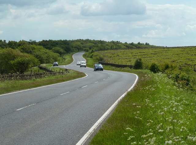 A621 south of Car Top