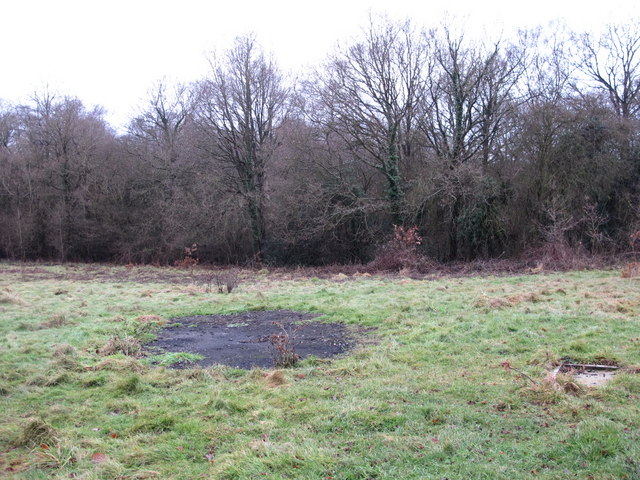 (Former) cricket ground north of Holwood