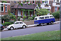 Dist:0.2km<br/>A pair of ancient volkswagens spotted from Hilly Fields on Montague Avenue.