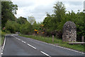 NH5126 : Memorial to Sir John Cobb beside A82 by Trevor Littlewood