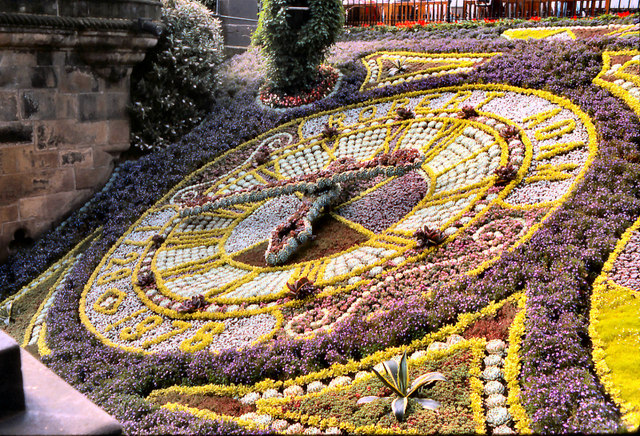 Edinburgh Floral Clock (1978)