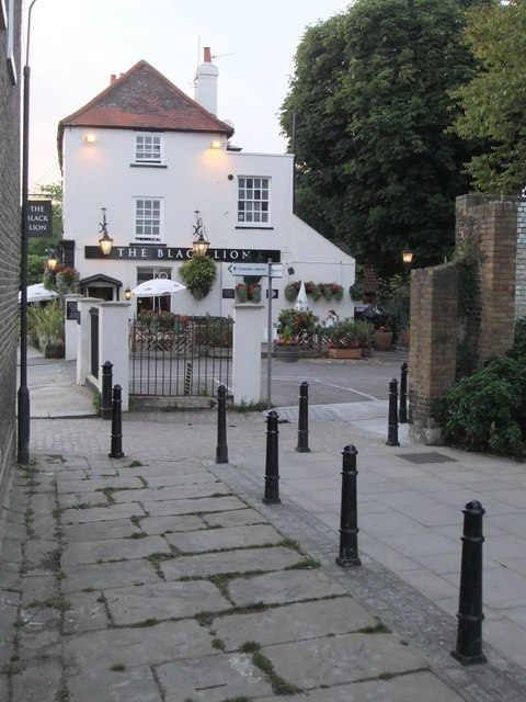 The 'Black Lion', Hammersmith