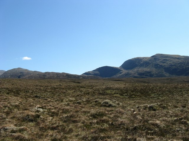 Moorland above Lael Forest