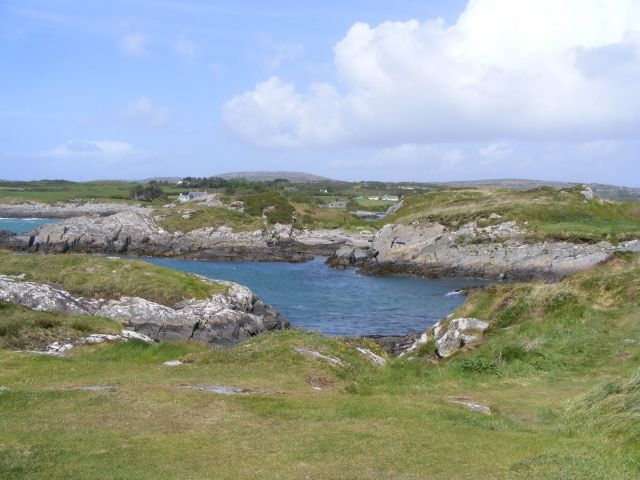 Inlet on Toormore Bay - Altar Townland