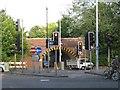SU4316 : Low bridge on Wide Lane A27 by Robin Stott
