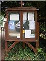 TM2442 : St.Mary's Church Notice Board, Bucklesham by AGC