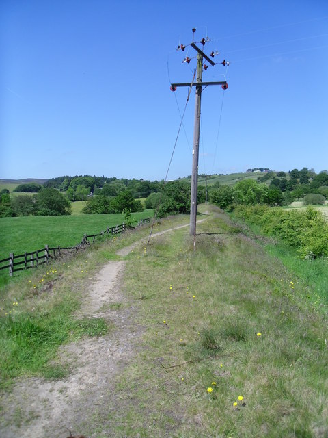 Old railway line.