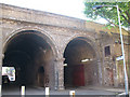 TQ3479 : Linsey Street arches (2) by Stephen Craven